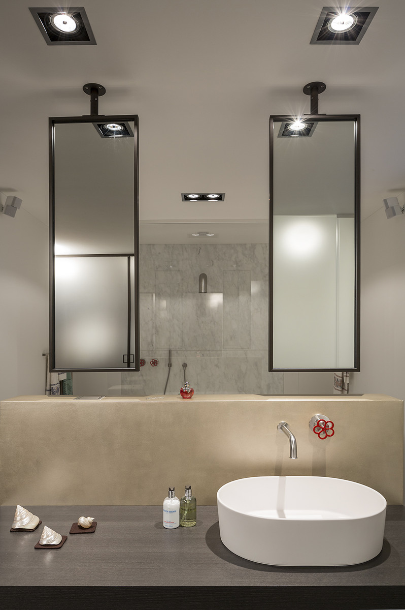 glas im bad wohnen mit glas glasvetia. Black Bedroom Furniture Sets. Home Design Ideas