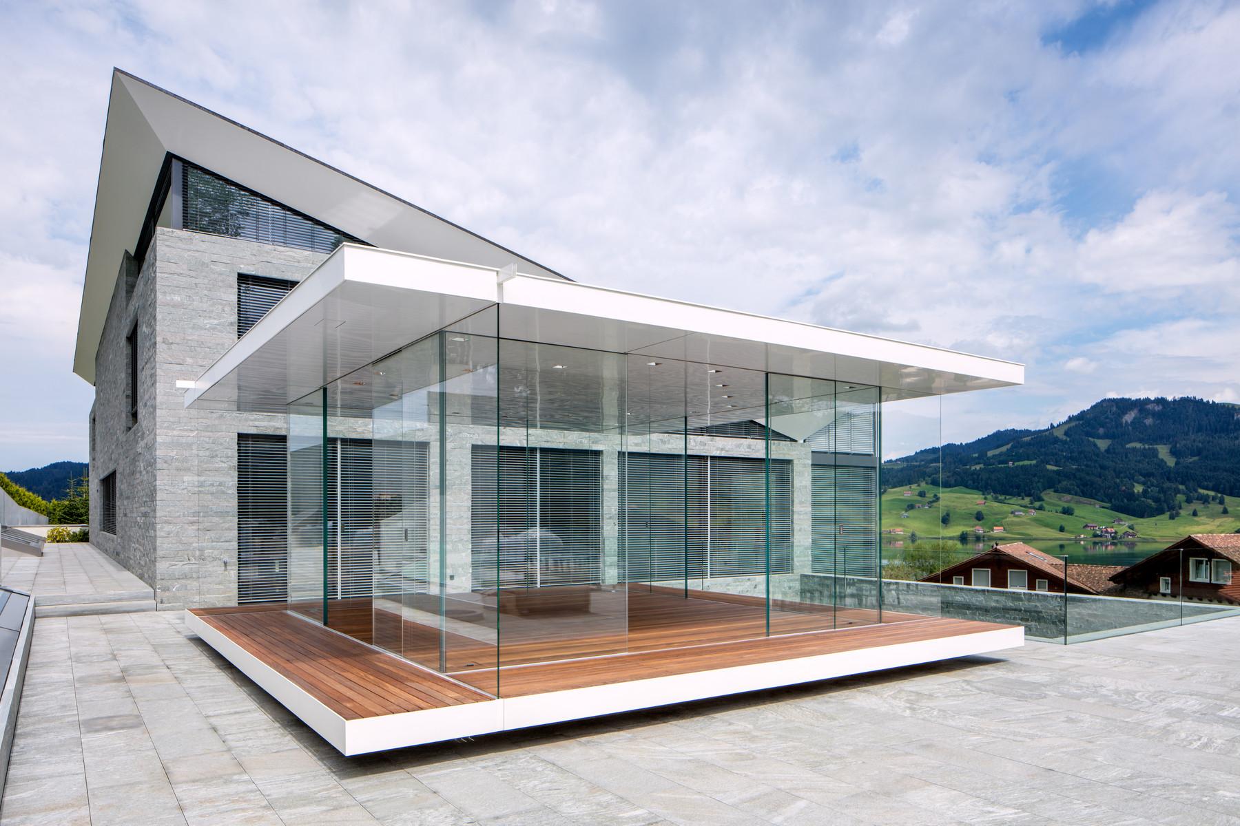glaspavillon mit 360 rundsicht news glasvetia. Black Bedroom Furniture Sets. Home Design Ideas