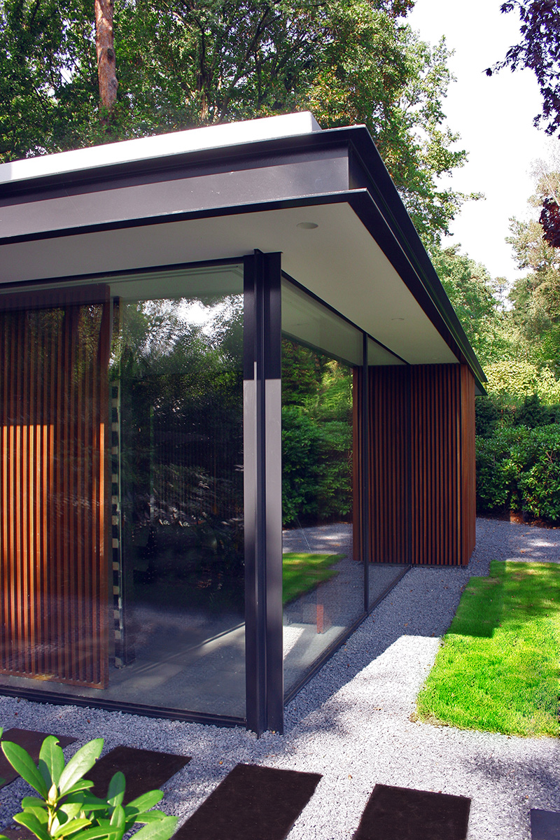 Glaspavillon luxuri se rundumsicht glasvetia - Gartenpavillon glas ...