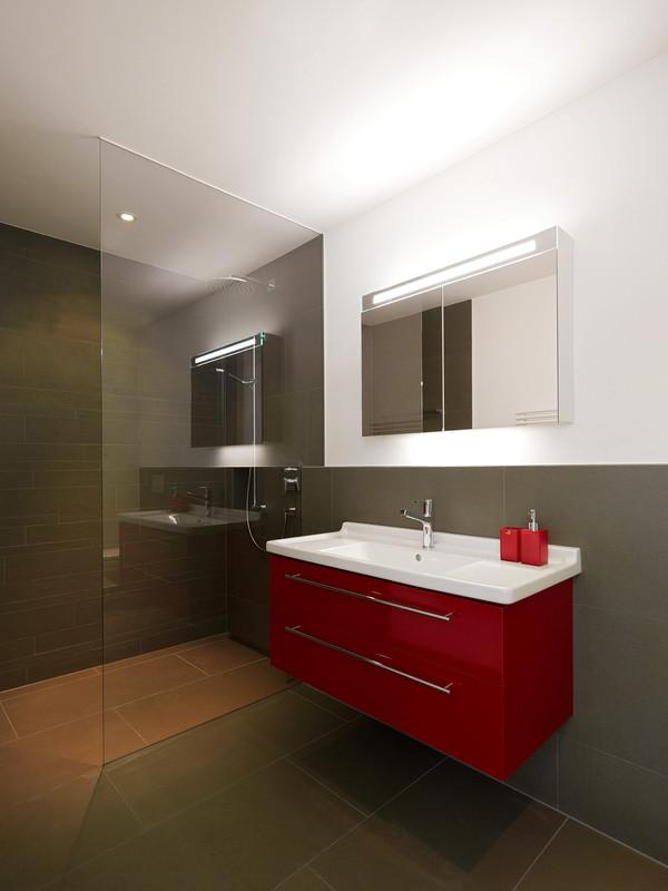 Inspiration wohnen mit glas glasvetia - Glas im badezimmer ...